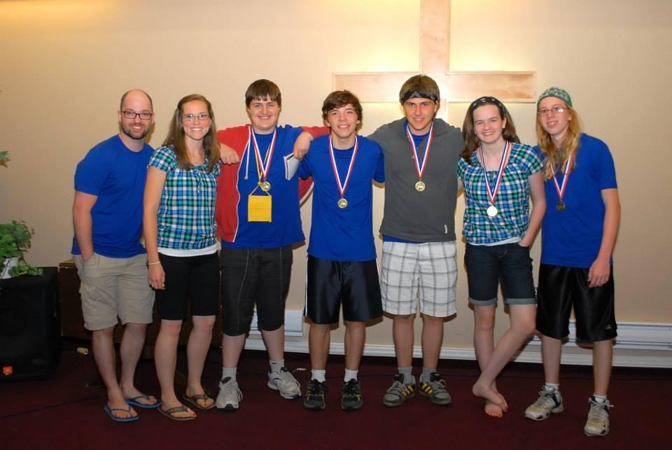 Team 1 medals